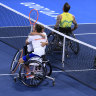 'We got pumped tonight': Alcott and Davidson settle for doubles silver ahead of Aussie star's singles final