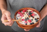 Just as a low-fibre diet can cause high blood pressure, a high-fibre diet can help to prevent it.