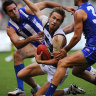 From the Archives, 2013: No lead big enough for the Roos in Cat fight