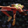 God's work and self-confidence: Australian high jumpers' lofty ambitions