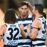 Blicavs smother gives Cats last gasp win over desperate Swans