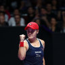 Barty headlines Brisbane International