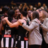Second straight win steers Magpies into Super Netball top four