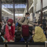 Evacuation flights of Afghans to the US halted over four measles cases