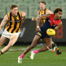 As it happened: Hawks draw with Demons, Power win thriller against Saints, Bulldogs overcome Suns