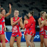 Swifts overcome COVID-19 chaos to claim victory over Fever