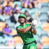Umpiring controversy can't stop Stars, Stoinis in win over Hurricanes