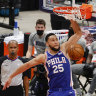 'Hack-a-Simmons': Big Ben faces challenge as 76ers fall