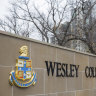 Wesley College says no student will lose their place this year due to inability to pay.