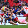 Swans claim another scalp as Dogs denied top spot