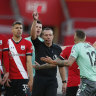 Southampton surprise leaders Everton, Leicester break Arsenal hearts late