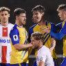 Brisbane Strikers advance as Roar pay the penalty