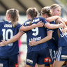 Melbourne Victory hit City for six in derby thrashing