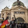'Listen to our voice': Invasion Day rally crowds march through Melbourne