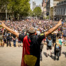 Thousands marched through the streets of Melbourne to protest Australia Day last year, before COVID-19 reached the country.