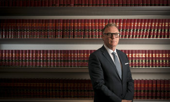 Reformist: Family Court and Federal Circuit Court Chief Justice Will Alstergren.