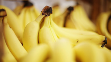 An isolated incident was reported with a metal object found in a banana.