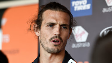 GWS captain Phil Davis says the grand final loss will spur his side on.