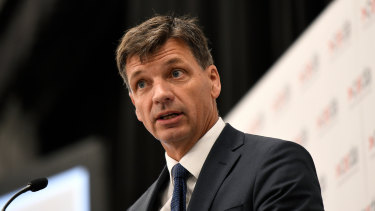 Energy Minister Angus Taylor has visited Washington to sign an agreement to buy fuel from the Trump administration.
