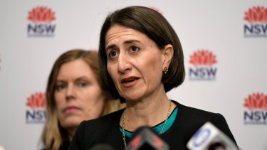 Spending up big: Premier Gladys Berejiklian.