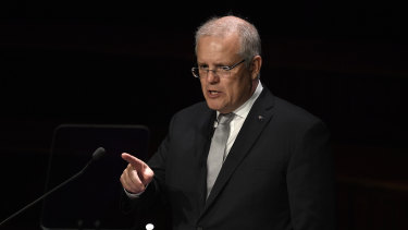 "Prime Minister Scott Morrison warns of ""negative globalism"" as he delivers the 2019 Lowy Institute lecture."