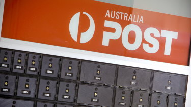 Australia Post has seen its revenue jump to record levels thanks to the pandemic.