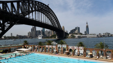 North Sydney Olympic Pool is set reopen pending an engineering review.