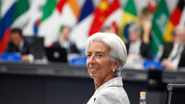 Incoming ECB chief Christine Lagarde.