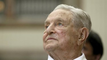 Billionaire George Soros supports liberal causes.