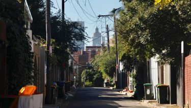 Inner-city lanes can be treasures in the making of a slower city made for walking.