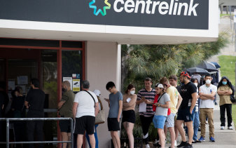 Queensland's unemployment rate rose to 7.7 per cent in September.