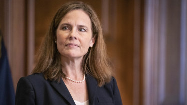 Amy Coney Barrett, whom Trump appointed to the Supreme Court just before the election, voted to dismiss a case brought by Texas's attorney general.