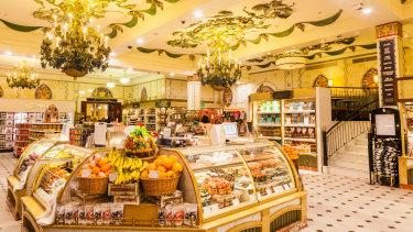 Harrods' foodhall: Zamira Hajiyeva spent close to $60,000 on chocolate alone.