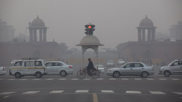 The World Bank estimates that pollution is costing India $US221b a year.