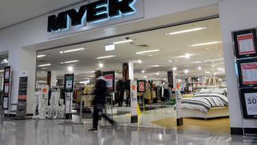 Myer is shedding 90 head office jobs as part of COVID-19 cost-cutting.