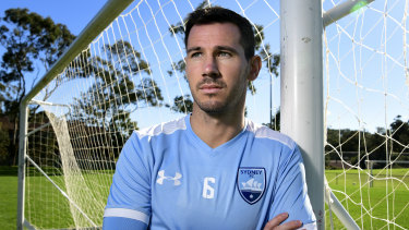 Sydney FC recruit Ryan McGowan.