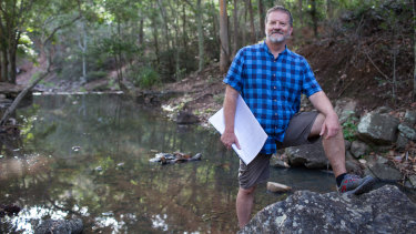 Paul Dean's new work is heavily informed by his love of the Australian bush.