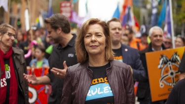 """ACTU president Michelle O'Neil says 6 per cent is a """"moderate"""" wage rise."""