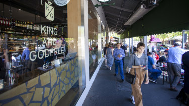 Once-thriving Lygon Street in Melbourne is under siege from rising vacancies.