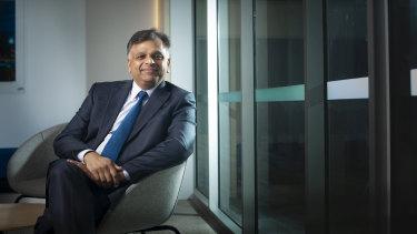 Cleanaway chief executive Vik Bansal.