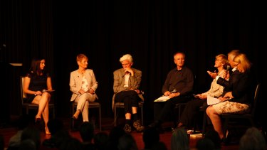 Jessica and Jan Edwards were on the discussion panel with euthanasia advocate Dr Rodney Symes and other health professionals. It was moderated by assisted dying advocate Andrew Denton.