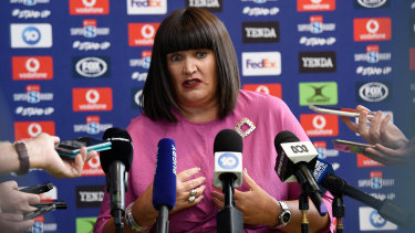Raelene Castle's tenure at the helm of Rugby Australia will be defined by the current broadcast negotiations.