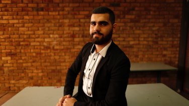 Zakariya Almaged, formerly of Basra in Iraq, officially became an Australian at a citizenship ceremony in Liverpool.
