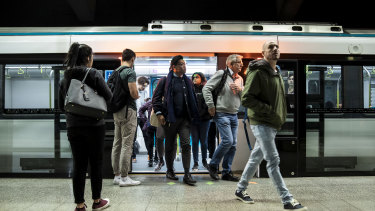 Patronage has been strong in the first months of the metro line opening.