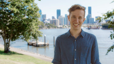 Greens candidate for Griffith Max Chandler-Mather.