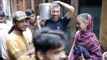 Mark and Cathy Delaney lived in an Indian slum in Delhi.