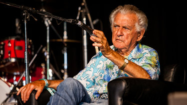 Bob Hawke at Woodford in 2017.