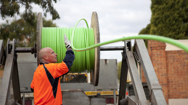 After 10 years about 99 per cent of the nation's premises are able to connect to the NBN.
