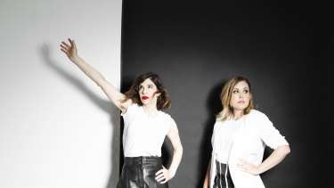 Sleater-Kinney's Carrie Brownstein and Corin Tucker offer hope.