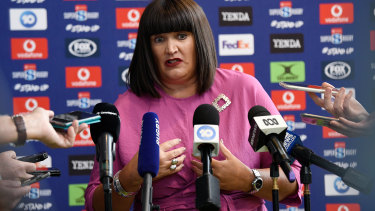 Rugby Australia CEO Raelene Castle wants to test the market before negotiating a deal for the TV rights.